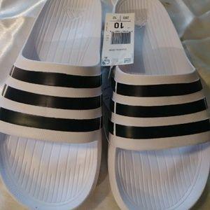 Adidas Slides New- Size 10